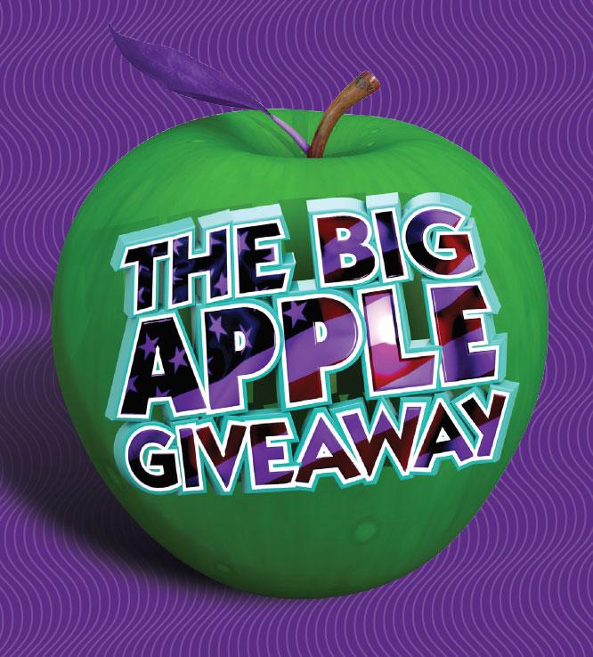 The Big Apple Giveaway