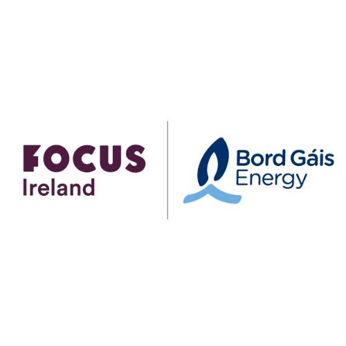 Focus Ireland and Bord Gais Ireland Logos