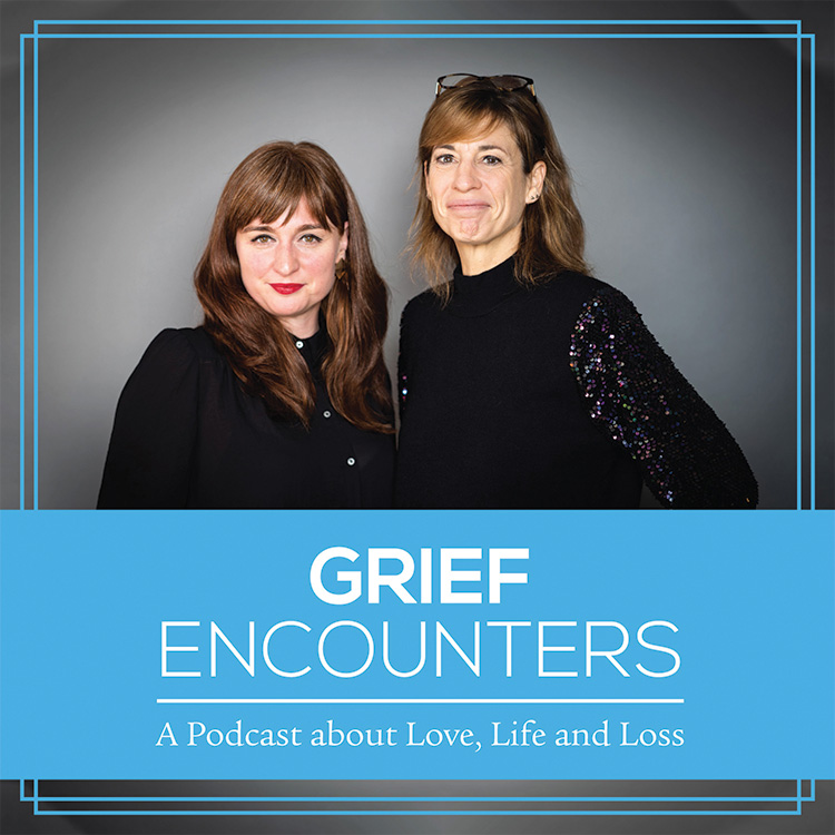 Grief Encounters podcast cover